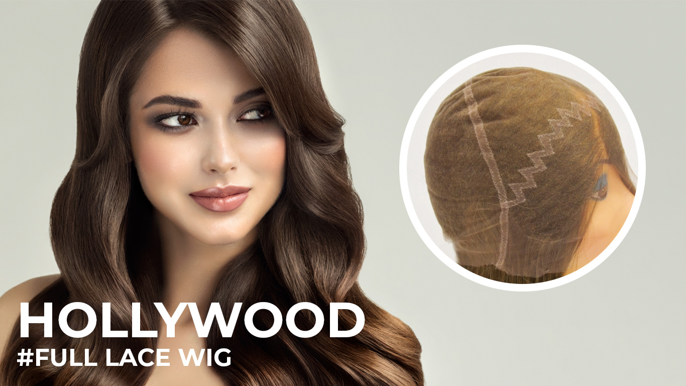 Hollywood lace wigs