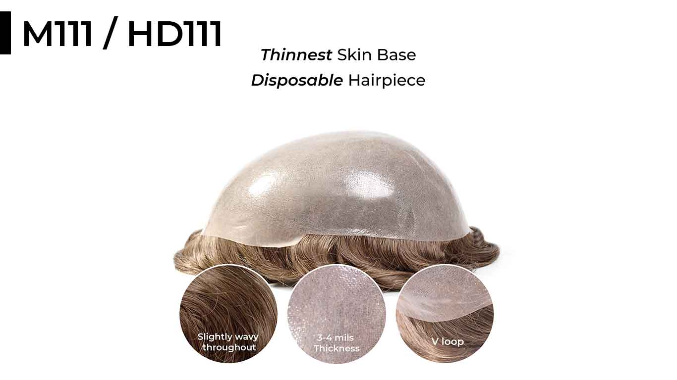 M111-HD111 are thinnest hair systems